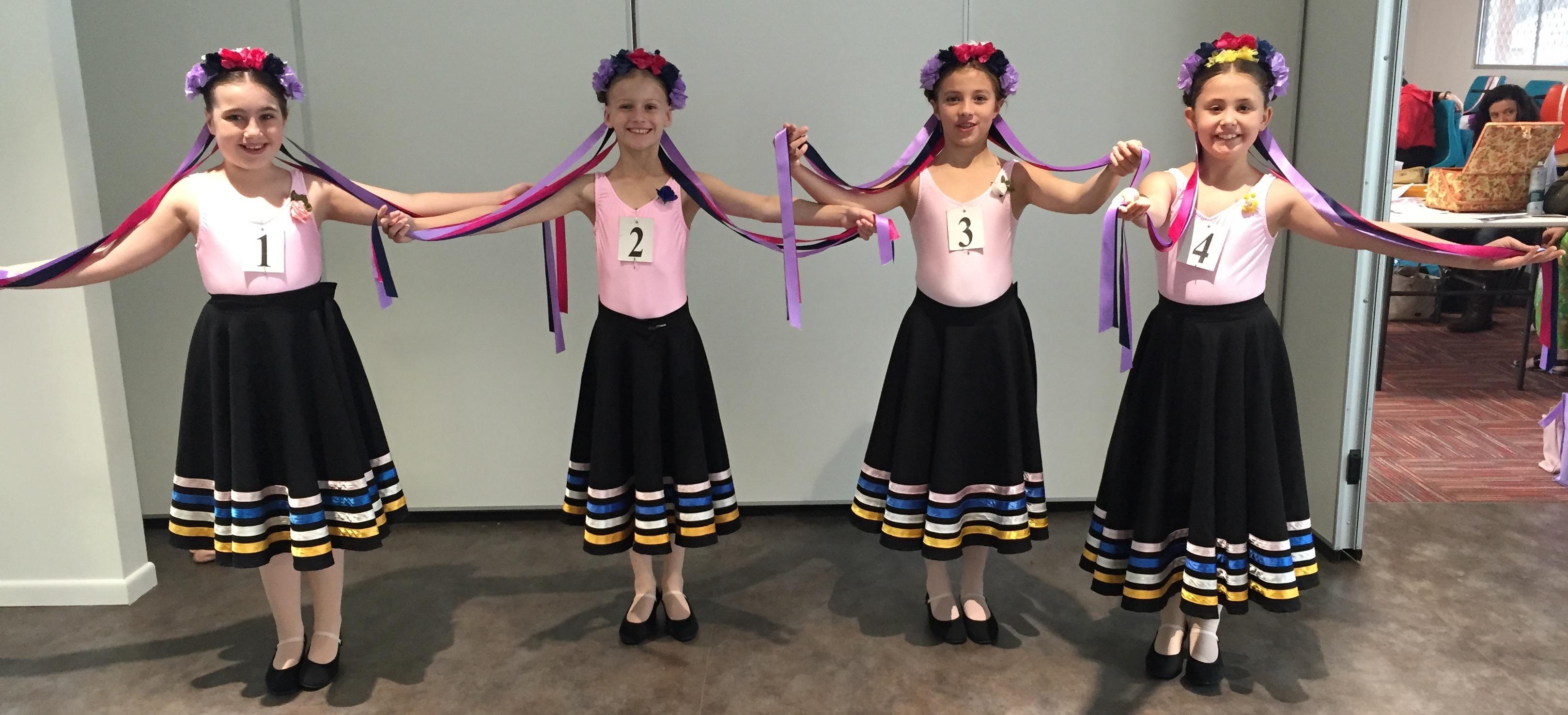 Grade 3 Ballet - Exam 1 - Kay Flynn Dancing Academy