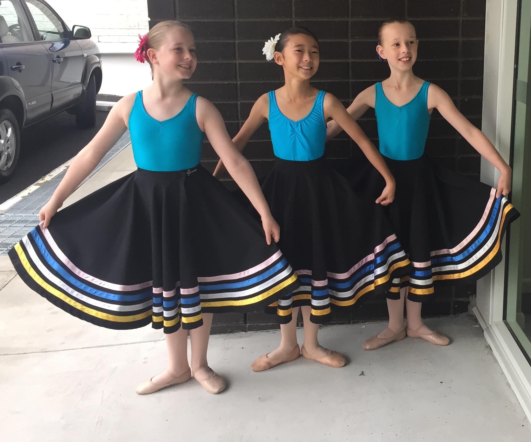 Grade 4 Ballet - Exam 1 - Kay Flynn Dancing Academy